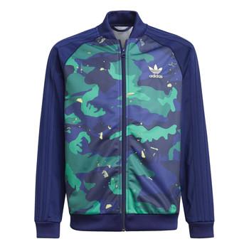 Textil Chlapecké Teplákové bundy adidas Originals HARRA