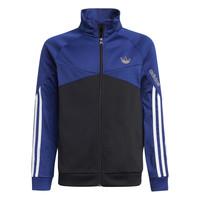 Textil Děti Teplákové bundy adidas Originals SENTIRA Černá / Tmavě modrá