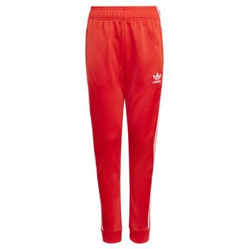 Textil Děti Teplákové kalhoty adidas Originals HANA Červená