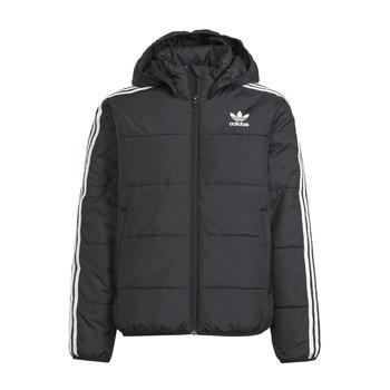 Textil Děti Prošívané bundy adidas Originals SOLITARE Černá