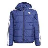 Textil Děti Prošívané bundy adidas Originals BATTI Tmavě modrá