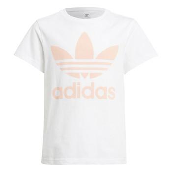 Textil Děti Trička s krátkým rukávem adidas Originals VAGUO Bílá