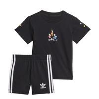 Textil Chlapecké Set adidas Originals COTES Černá