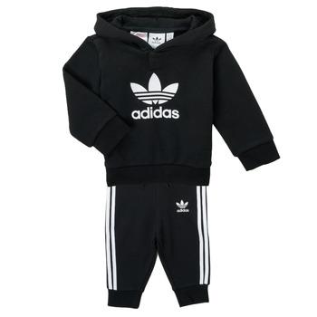 Textil Děti Set adidas Originals TROPLA Černá