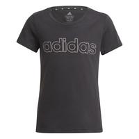 Textil Dívčí Trička s krátkým rukávem adidas Performance PLAKAT Černá