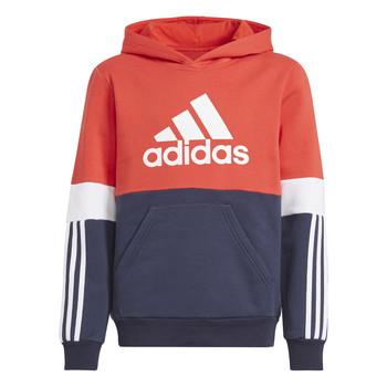Textil Chlapecké Mikiny adidas Performance SOLEDAD Červená / Tmavě modrá