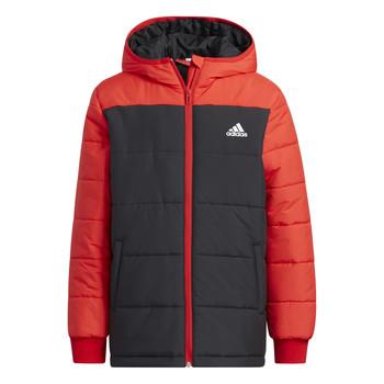 Textil Děti Prošívané bundy adidas Performance RACHELA Červená / Černá