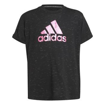 Textil Dívčí Trička s krátkým rukávem adidas Performance MONICA Černá