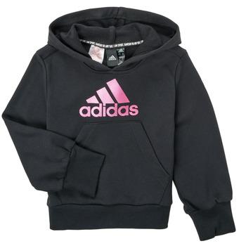 Textil Dívčí Mikiny adidas Performance KINOM Černá