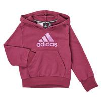 Textil Dívčí Mikiny adidas Performance MARINE Růžová