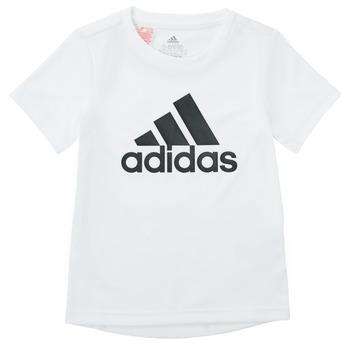 Textil Chlapecké Trička s krátkým rukávem adidas Performance NADEGE Bílá