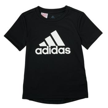 Textil Chlapecké Trička s krátkým rukávem adidas Performance NADGED Černá
