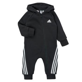 Textil Děti Overaly / Kalhoty s laclem adidas Performance TOMILA Černá