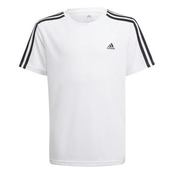 Textil Chlapecké Trička s krátkým rukávem adidas Performance AYMERICA Bílá