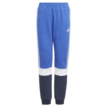 Textil Chlapecké Teplákové kalhoty adidas Performance KATIA Tmavě modrá / Černá