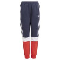 Textil Chlapecké Teplákové kalhoty adidas Performance ALMANA Tmavě modrá / Červená