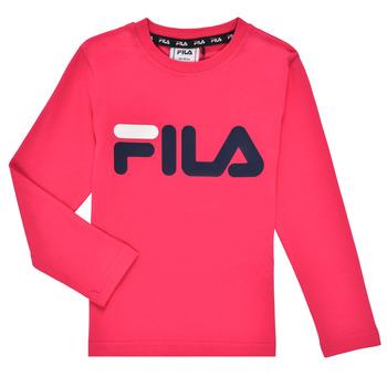 Textil Dívčí Trička s dlouhými rukávy Fila ESPIN Růžová