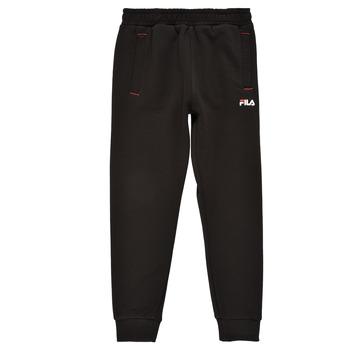 Textil Chlapecké Teplákové kalhoty Fila REBALA Černá