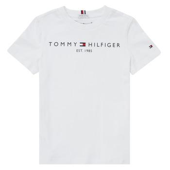 Textil Chlapecké Trička s krátkým rukávem Tommy Hilfiger SELINERA Bílá