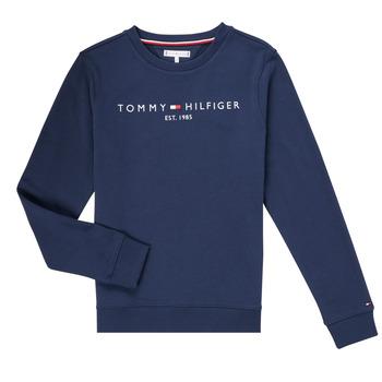 Textil Chlapecké Mikiny Tommy Hilfiger TERRIS Tmavě modrá