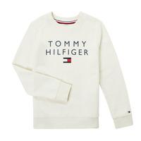 Textil Chlapecké Mikiny Tommy Hilfiger HERTINA Bílá