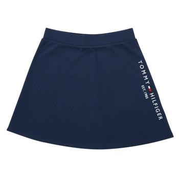Textil Dívčí Sukně Tommy Hilfiger AMELIA Tmavě modrá