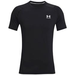 Textil Muži Trička s krátkým rukávem Under Armour Heatgear Armour Fitted Short Sleeve Černá