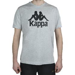 Textil Muži Trička s krátkým rukávem Kappa Caspar T-Shirt Šedá
