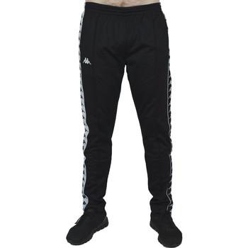 Textil Muži Teplákové kalhoty Kappa Banda Astoria Snaps Černá