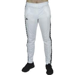 Textil Muži Teplákové kalhoty Kappa Banda Astoria Snaps Bílá