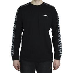 Textil Muži Trička s dlouhými rukávy Kappa Haimo Longsleeve Černá