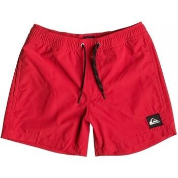 Textil Děti Plavky / Kraťasy Quiksilver Everyday 13 EQBJV03042 Červená