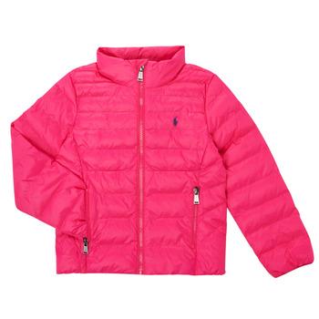 Textil Dívčí Prošívané bundy Polo Ralph Lauren DERNIN Růžová