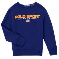 Textil Chlapecké Mikiny Polo Ralph Lauren SENINA Tmavě modrá