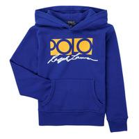 Textil Chlapecké Mikiny Polo Ralph Lauren SILENA Tmavě modrá