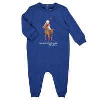 Textil Chlapecké Overaly / Kalhoty s laclem Polo Ralph Lauren KATRINA Tmavě modrá
