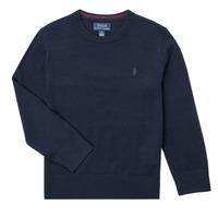 Textil Chlapecké Svetry Polo Ralph Lauren DENILA Tmavě modrá