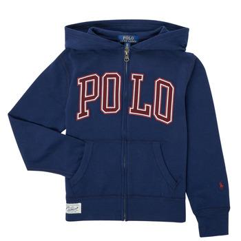 Textil Chlapecké Mikiny Polo Ralph Lauren FERINA Tmavě modrá