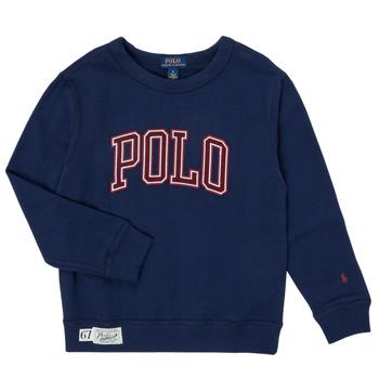 Textil Chlapecké Mikiny Polo Ralph Lauren KAMILLAR Tmavě modrá