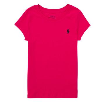 Textil Chlapecké Trička s krátkým rukávem Polo Ralph Lauren ASKIRA Růžová