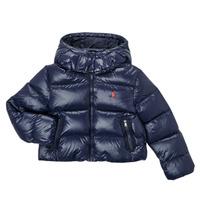 Textil Dívčí Prošívané bundy Polo Ralph Lauren TREFINA Tmavě modrá