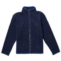 Textil Dívčí Fleecové bundy Polo Ralph Lauren TOLIPA Tmavě modrá