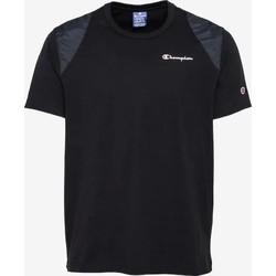 Textil Muži Trička s krátkým rukávem Champion CAMISETA HOMBRE  KK001 Černá