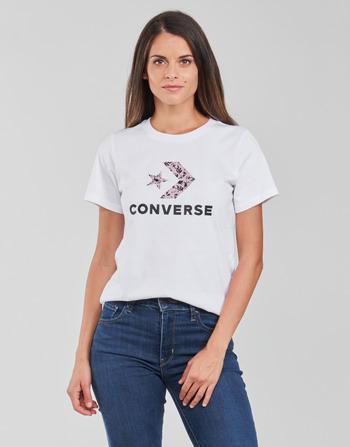 Converse STAR CHEVRON HYBRID FLOWER INFILL CLASSIC TEE