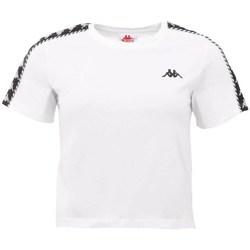 Textil Ženy Trička s krátkým rukávem Kappa Inula Tshirt Bílé