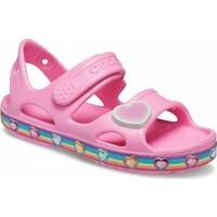 Boty Děti Sandály Crocs Fun Lab Rainbow Sandal Kids Růžové