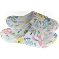 Boty Dívčí pantofle John-C Detské modré šľapky ADEL svetlomodrá