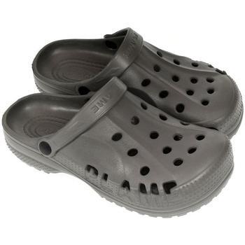 John-C Pantofle Pánske tmavo-sivé crocsy FLAME LIMO -