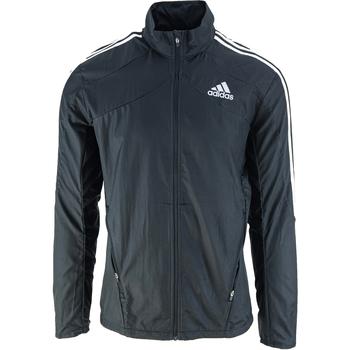 Textil Muži Větrovky adidas Originals Marathon 3 Stripes Černá
