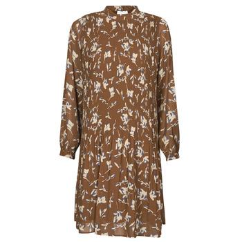 Textil Ženy Krátké šaty Esprit PER CHIFFON PRI Hnědá